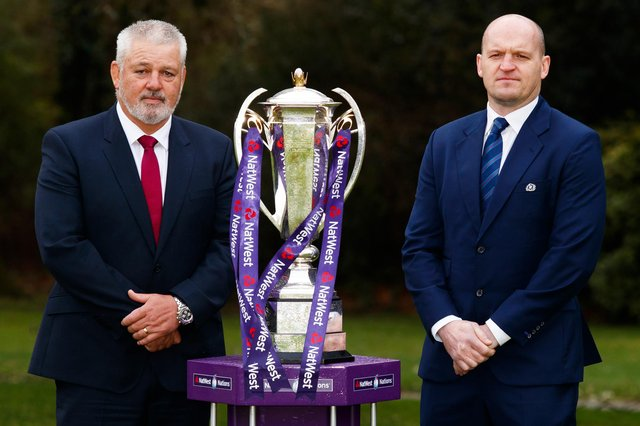 Gregor Townsend, right, is likely to be named attack coach by Lions boss Warren Gatland.