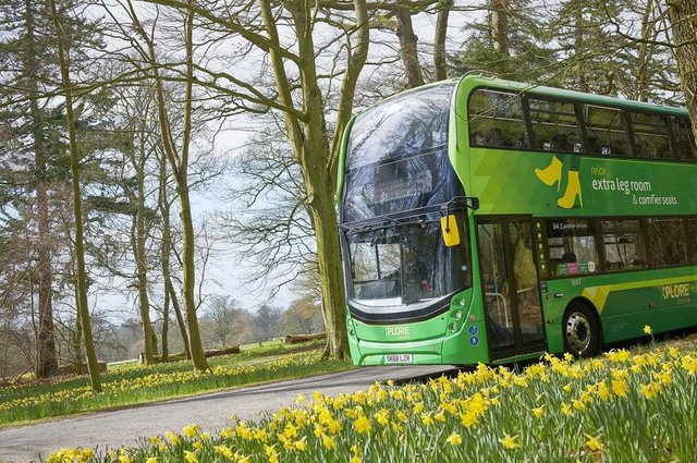 Bus operators are looking to introduce more environmentally friendly vehicles onto Scotland's roads. Picture: H Campbell Photography