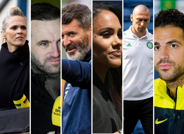 Scotland have plenty representatives across both BBC and ITV. Photo credit from SNS/Alex Scott credit: Getty Images