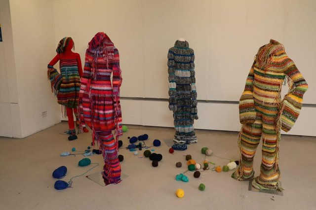 Work by Eva Brown at the Duncan of Jordanstone Degree Show