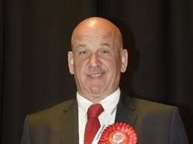 Covid warning: Councillor Norman Hampshire