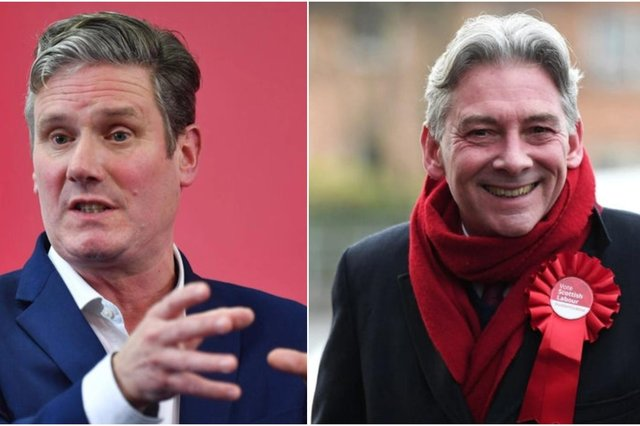 Can Richard Leonard and Keir Starmer change the nature of the debate over Scotland's future? (Picture: PA)