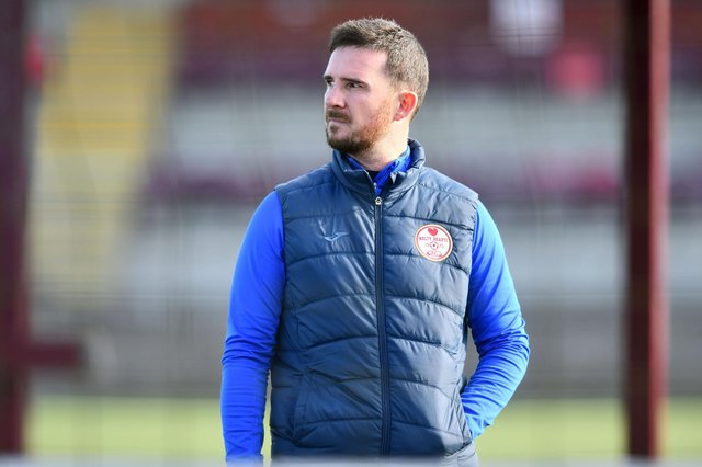 Barry Ferguson has left Kelty after leading them to promotion. Picture: Michael Gillen.