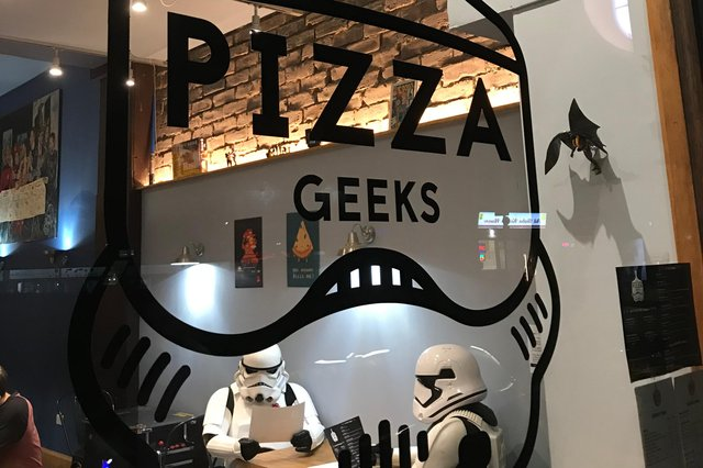 """""""Pizza Geeks for me! Keeping everyone fed on delivery whilst continuing their Pizza for the People, feeding NHS staff and vulnerable people"""", Amy Louise Beverley. Pizza Geeks, 19 Dalry Road, Edinburgh  (0131 347 8863, www.pizzageeks.co.uk) (They have just given away their 10,000 pizza as part of the above initiative, which is designed to support the disadvantaged, homeless and key workers)."""