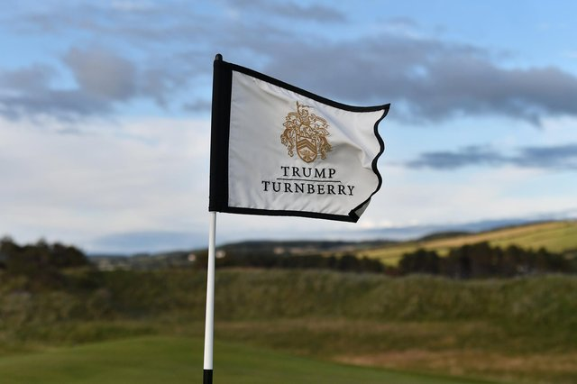 The latest accounts do not reflect the widespread disruption to business at Trump Turnberry as a result of coronavirus. Picture: John Devlin