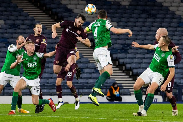 Hibs owner Ron Gordon is looking forward to the return of the capital derby next season and the passion and excitement it stirs up in the city. Photo by Alan Harvey / SNS Group