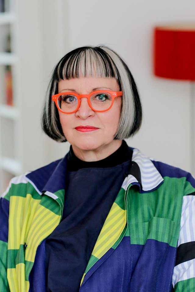 Philippa Perry taken by Justine Stoddart