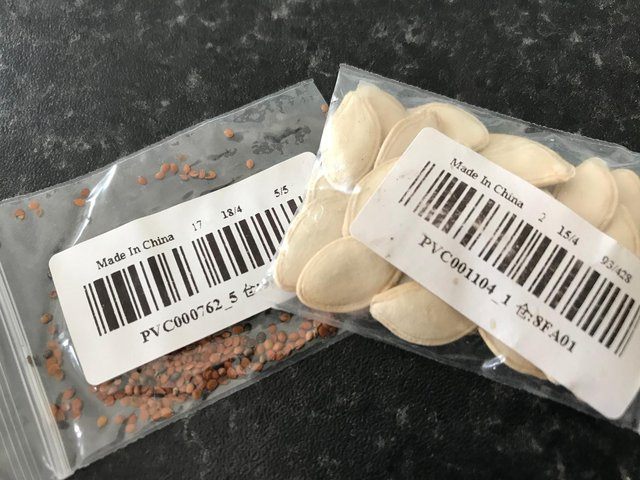 Seeds have been arriving at Scottish households but could be part of a scam