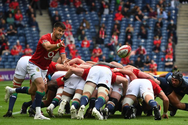 Scrum half Conor Murray has been appointed Lions captain following the injury to Alun Wyn Jones.