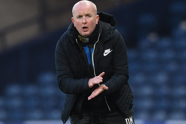 Livingston manager David Martindale, who led his side into the Betfred Cup final on Sunday, faces a fit and proper person SFA test - just his latest  (Photo by Craig Foy / SNS Group)