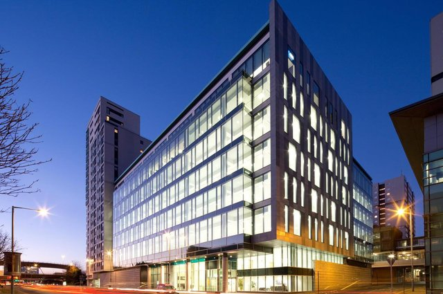 Cuprum in Glasgow was built in 2010 and is of Grade A quality, offering large floorplates and extending to 96,267 square feet over eight floors, plus 37 car parking spaces.