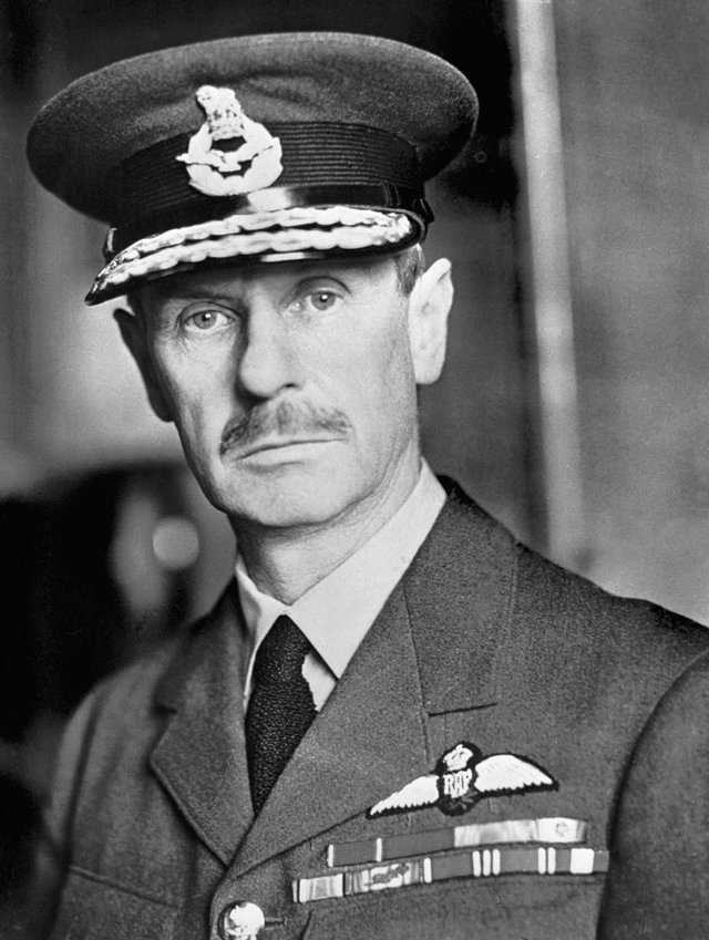 Air Chief Marshall Hugh Dowding, who led victory at the Battle of Britain.