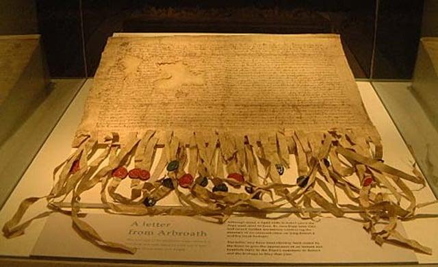 The Declaration of Arbroath.